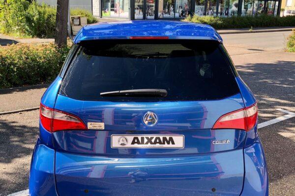 Aixam Coupé Premium bleu saphir 2021 arrière abbvsp
