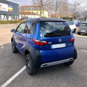 Aixam Crossover Premium Bleu Saphir abbvsp