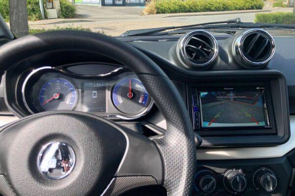Aixam City GTO blanc intérieur tableau de bord abbvsp